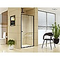 Adjustable Semi Frameless Shower Screen (98~106) x 195cm Australian Safety Glass