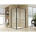 Semi Frameless Shower Screen (114~122)x 195cm & (89~92)x 195cm Side AS/NZS Glass
