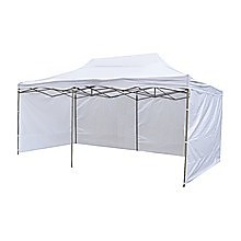 3x6m Popup Gazebo Party Tent Marquee White
