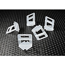 1000x Tile Leveling System Clips Wall Floor Tiling Spacer Tool 1.5mm
