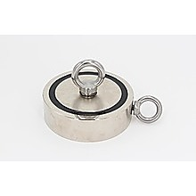 340Kg Salvage Strong Recovery Magnet Neodymium Hook Treasure Hunting Fishing