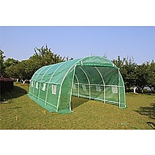 Walk In Greenhouse Tunnel Plant 5M X3M Garden Storage PE Grow Sheds Green House