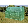 3X2X2M Walk In Greenhouse Tunnel Plant Garden Storage Grow Sheds Green House