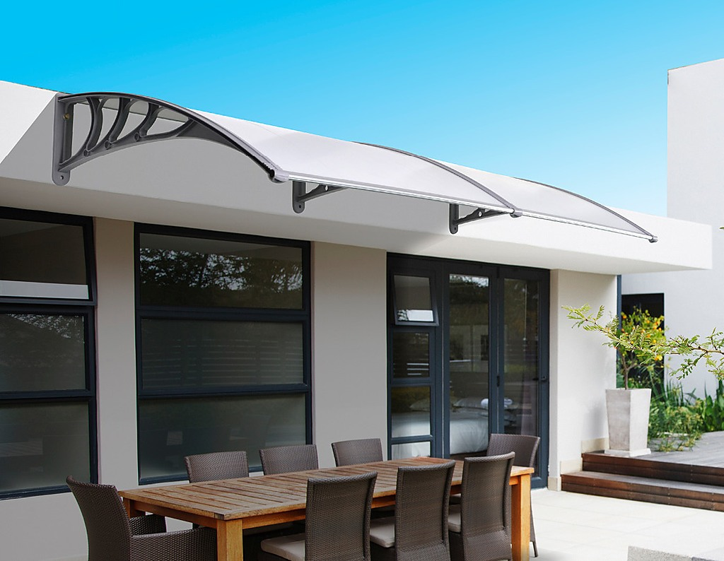 Diy Outdoor Awning Cover With Rain Gutter