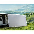 3.7 x 1.8m Caravan Privacy Screen Side Roll Out Awning