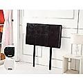 Single Brown PU Leather Bed Headboard Bedhead