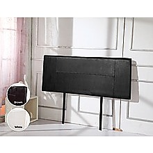 Queen Black PU Leather Bed Headboard Bedhead