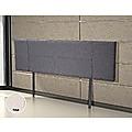 King Grey Linen Fabric Bed Headboard Bedhead