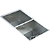 820x457mm Handmade Stainless Steel Sink with Waste and Drain Plug - Undermount/Topmount