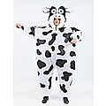 Cow Fancy Dress Inflatable Suit -Fan Operated Costume