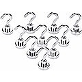 10x Strong Rare Earth N38 Neodymium Magnetic Hanger Holder 10kg Magnet Hooks