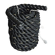 Battle Rope Dia 3.8cm x 9M length Poly Exercise Workout Strength Training