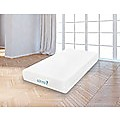 King Single 25cm Gel Memory Foam Mattress Dual-Layered - CertiPUR-US