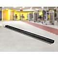 2.45m (8FT) Black Gymnastics Folding Balance Beam in Synthetic Suede