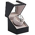 Automatic Watch Winder Display Box Case Motor Rotation Storage PU Leather