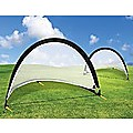 Pair of Soccer Football Goals 180cm Pop Up Portable Quick Set Up