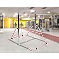 Pink Kids Gymnastics Bars Training Horizontal Bar Monkey Kip Bar