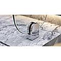 Chrome Bracket for Glass Balustrade Panels - Set of 2