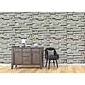 Wallpaper Brick Pattern 3D Textured Non-woven Wall Paper Roll