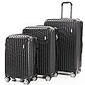 "Delegate Suitcases Luggage Set 20"" 24"" 28""Carry On Trolley TSA Travel Bag"