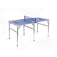 152cm Portable Tennis Table, Folding Ping Pong Table Game Set
