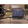 Car Luggage Basket Trailer Hitch Cargo Carrier