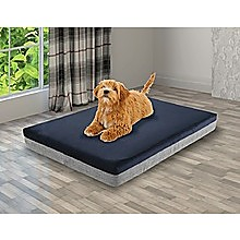 Memory Foam Dog Bed 12cm Thick Large Orthopedic Dog Pet Beds Waterproof Big