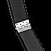 2.4m (8FT) Gymnastics Folding Balance Beam Black Synthetic Suede