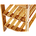 3 Tier Shoe Rack Bamboo Wooden Storage Shelf Stand Bench Cabinet Organiser