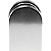 Brushed Nickel Bracket for Glass Balustrade Panels - Set of 2