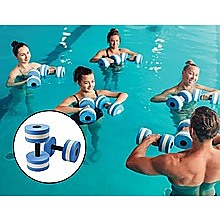 2x Water Aerobics Dumbbell EVA Aquatic Barbell Aqua Fitness