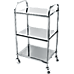 3 Tiers Food Trolley Cart Stainless Steel Utility Kitchen Dining Service