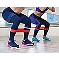 Resistance Band Loop Set of 5 Heavy Duty Gym Yoga Workout