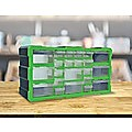 22 Multi Drawer Parts Storage Cabinet Unit Organiser Home Garage Tool Box