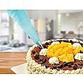 164Pcs Cake Decorating Kit Turntable Rotating Baking Flower Icing Piping Nozzles