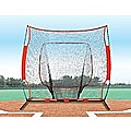 Portable Baseball Training Net Stand Softball Practice Sports Tennis