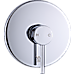 Bathroom Shower Bath Mixer Tap WATERMARK Approved - Chrome