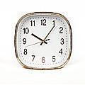 Modern Wall Clock Silent Non-Ticking Quartz Battery Operated Rose Gold