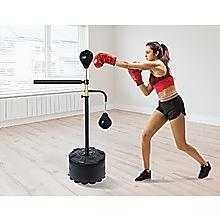 Free Standing Punching Bag Speedball Boxing Reflex Training Target Dummy Gym