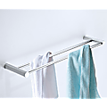 Double Towel Rail Grade 304 Stainless Steel 620mm