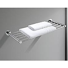 Bathroom Shelf Towel Rail Rack Bar Holder