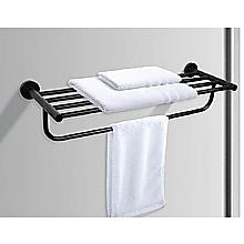 Classic Towel Bar Rail Bathroom Matte Black Finish