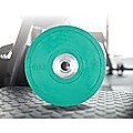 2x10kg PRO Olympic Rubber Bumper Weight Plate
