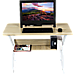 Wood & Metal Computer Desk with Shelf Home Office Furniture