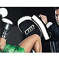MMA Kick Boxing Pads Curved Strike Shield Punching Bag Focus Arm Muay Thai