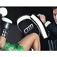 MMA Kick Boxing Pads Curved Strike Shield Punching Bag Focus Arm Muay Thai