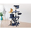 140cm Cat Tree Scratching Post Scratcher Tower Condo House Furniture Wood