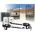 1000KG 10W Solar Double Swing Auto Motor Remote Gate Opener
