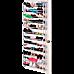36 Pair Shoe Holder Organiser Over The Door Hanging Shelf Rack Storage Hook