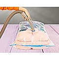 Vacuum Sealed Clothing Travel Bag Compact Storage x12